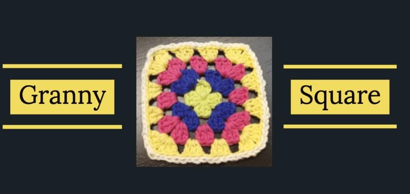 Aprende hacer un Granny Square de crochet