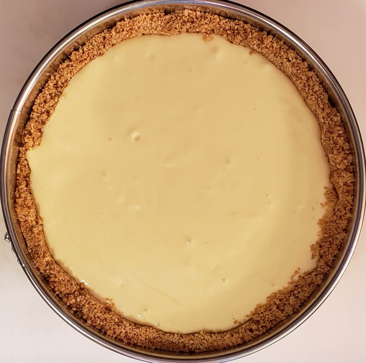thick crust cheesecake