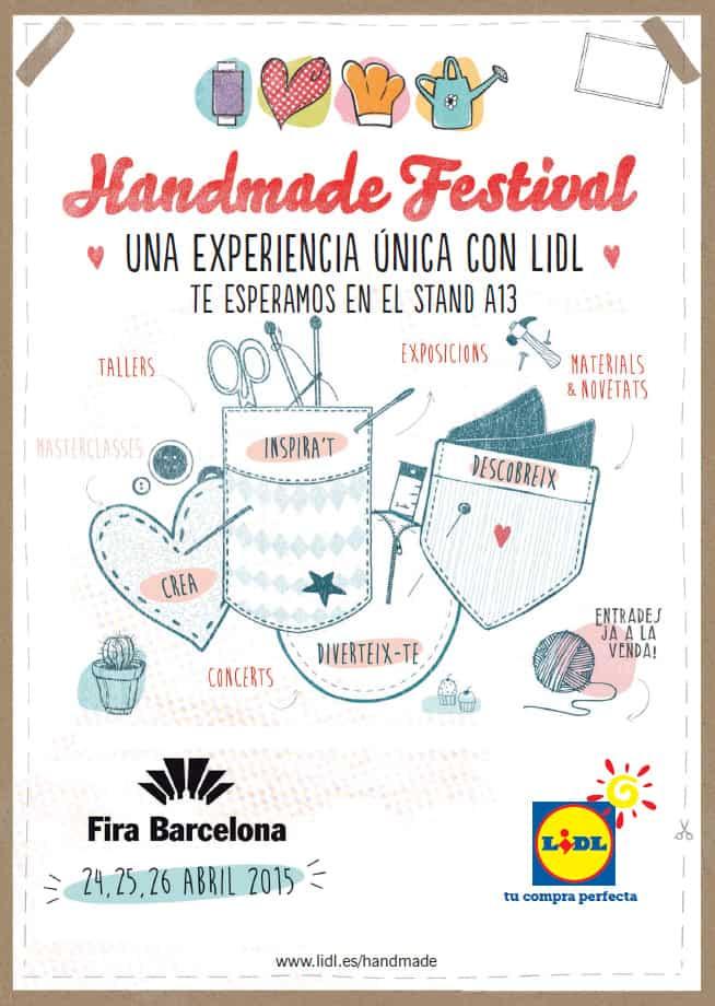 Handmade festival entradas gratis