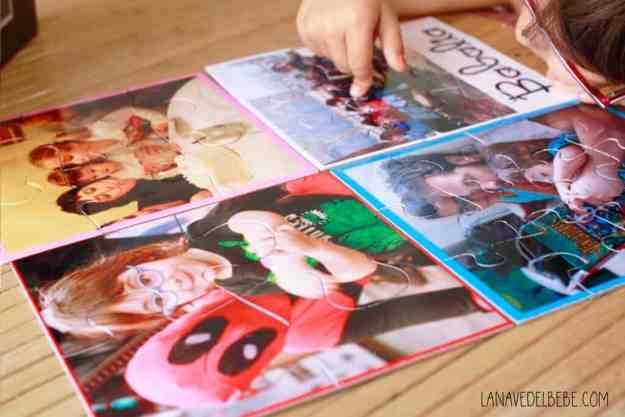 puzles personalizados para niños