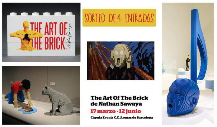 Art of The Brick sorteo
