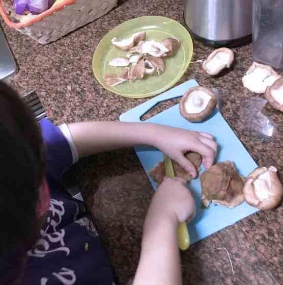 Ayudanta de cocina