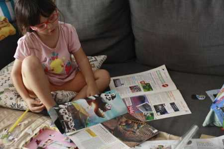 crear personajes locos con revistas