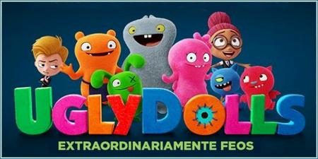 imagen de la portada de la película Ugly Dolls