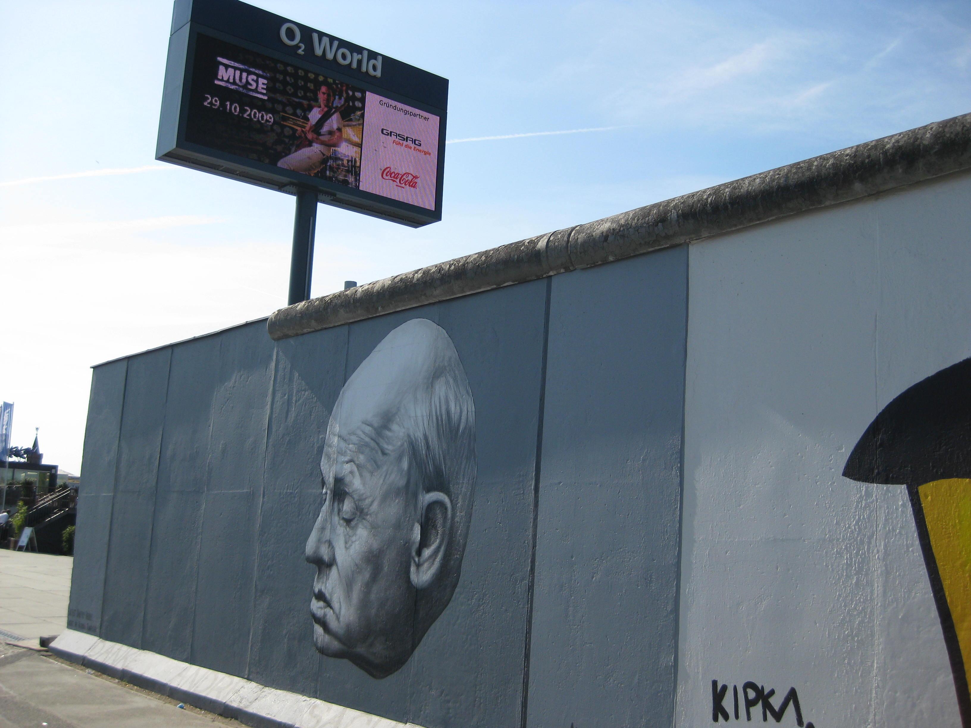 Mauer Berlin 2009