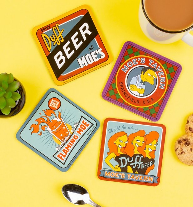 TS_The_Simpsons_Moes_Tavern_Set_Of_4_Coasters_8_99_C_1-617-662
