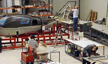 Lancair Builder Assist Center