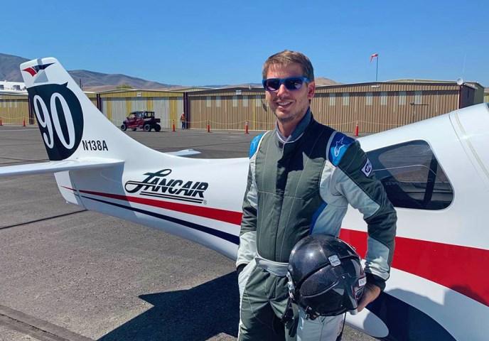 Conrad Huffstutler wins 2019 Reno Sport Silver