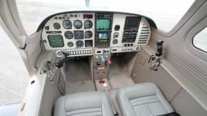 Lancair IV P N2ZM cabin