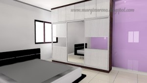 Final Design Wardrob Rumah