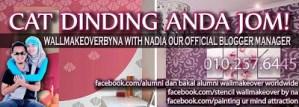 Wall Makeover By Na From Nadia Farahida