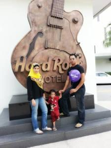 Percutian di Hard Rock Hotel Penang