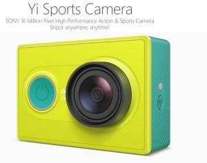 Tak mampu beli GoPro, beli Xiomi Yi Cam pun dah cukup…