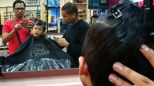 Barbershop hipster dah menarik cuma part kebersihan kena jaga…