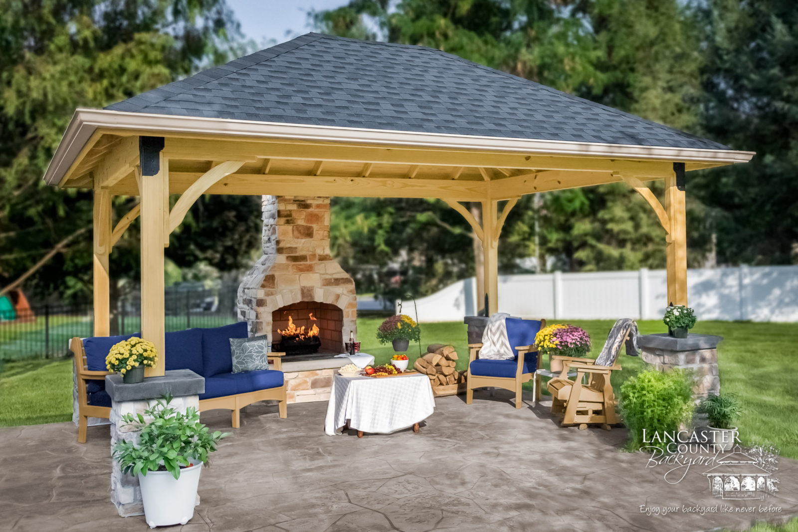 cost of an outdoor pavilion amish quality built pavilions