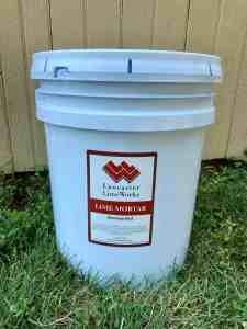 Bowman Red Lime Putty Mortar