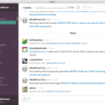 CSA and WP Core on Slack