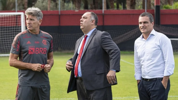 Renato Gaucho Braz e Spindel - Flamengo