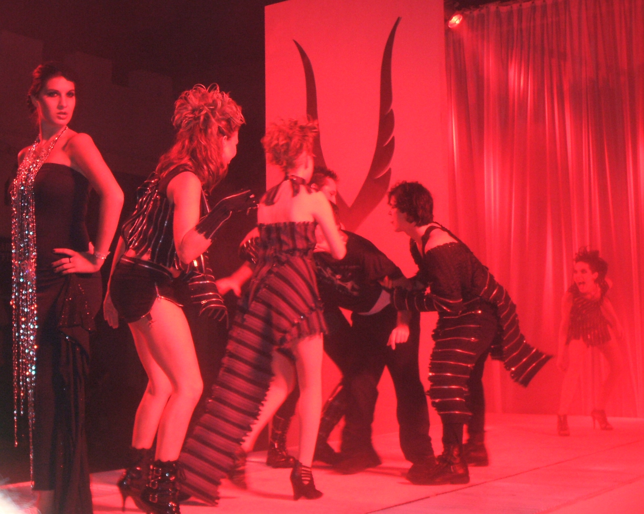 A Fashion Show Turns Ghoulish at the House of Vayne