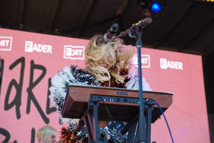 Charly Bliss at Fader Fort