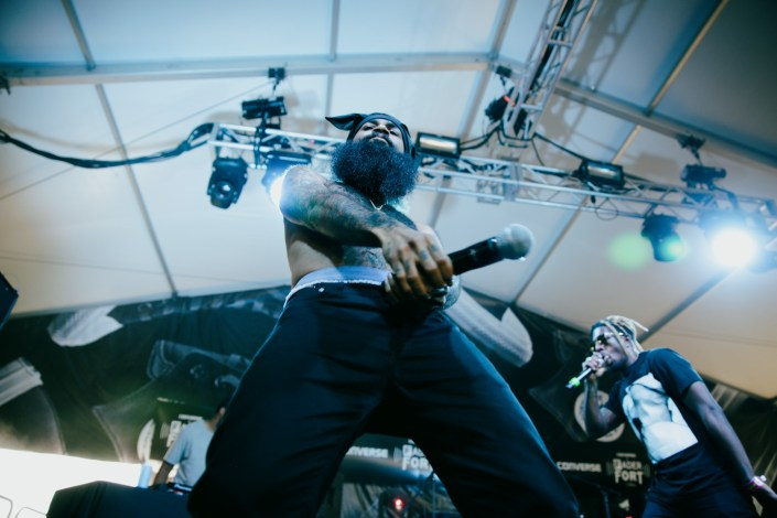 Flatbush Zombies at Fader Fort