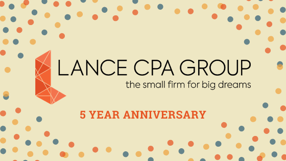 lance cpa group 5 year anniversary