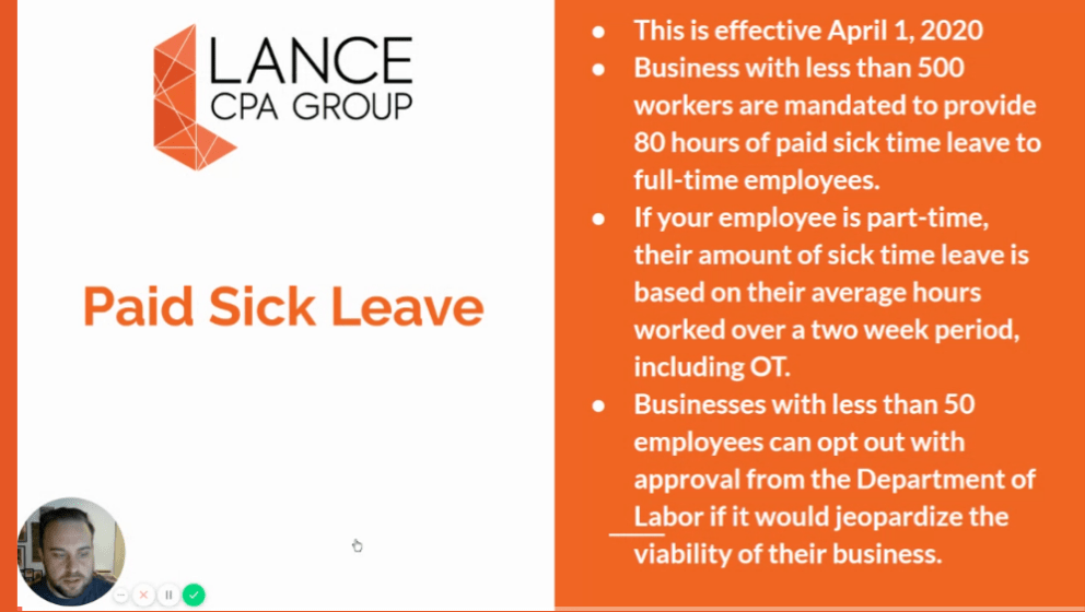 paid sick leave