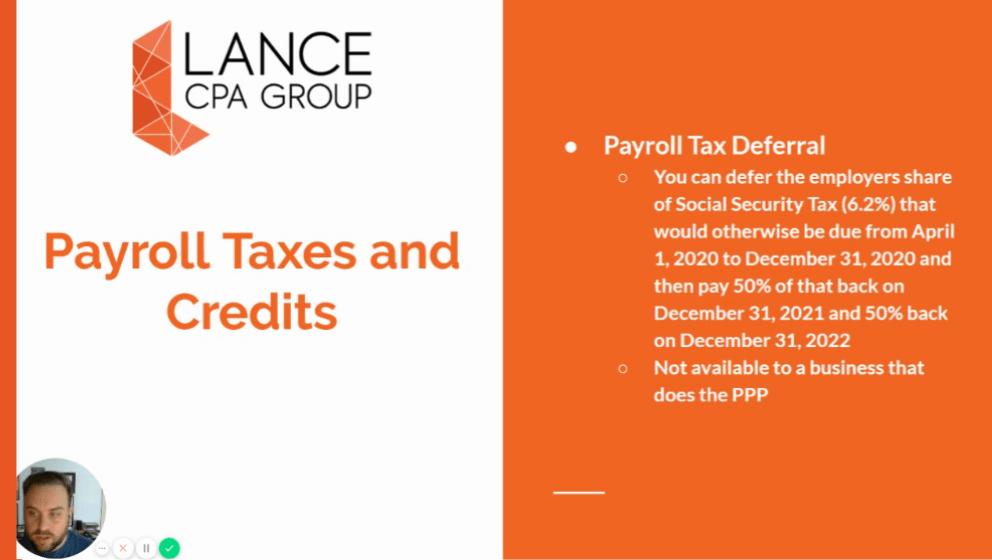 payroll taxes and credits