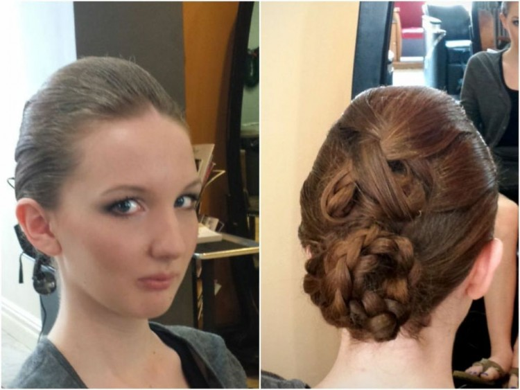 Braid Updo Hairstyles
