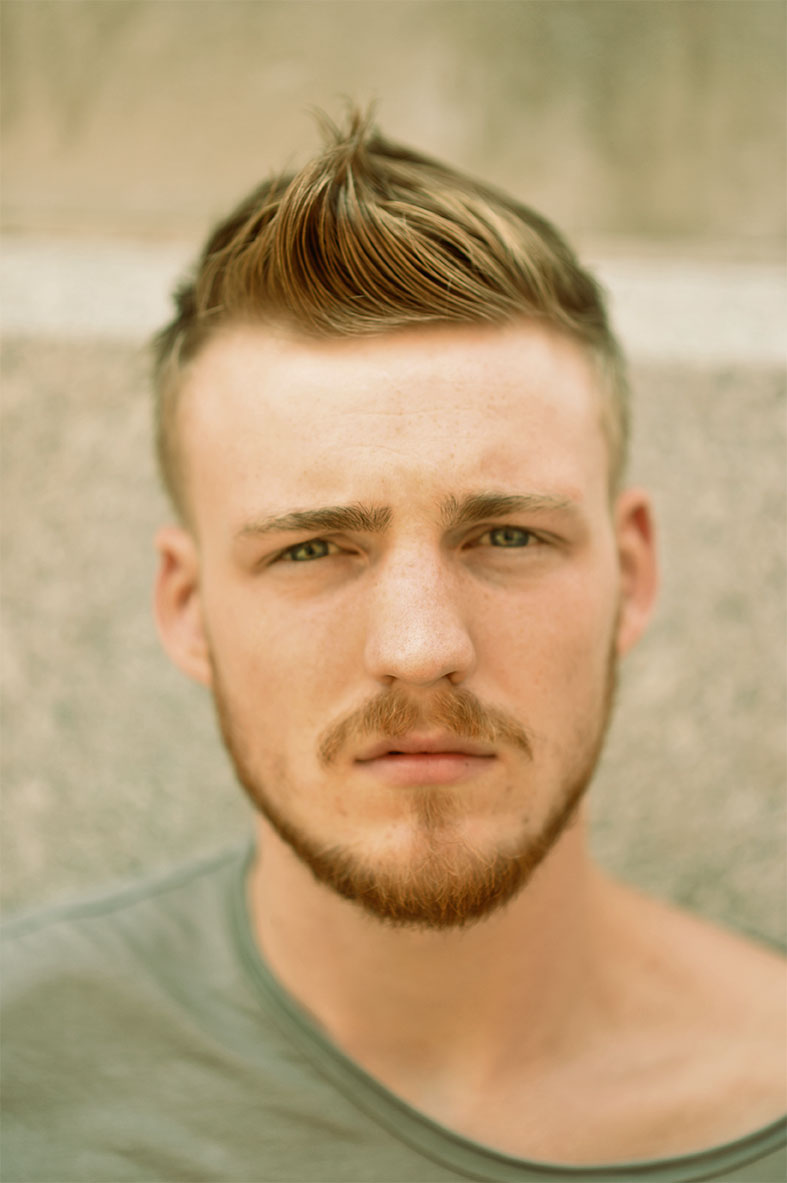 short haircuts images for men