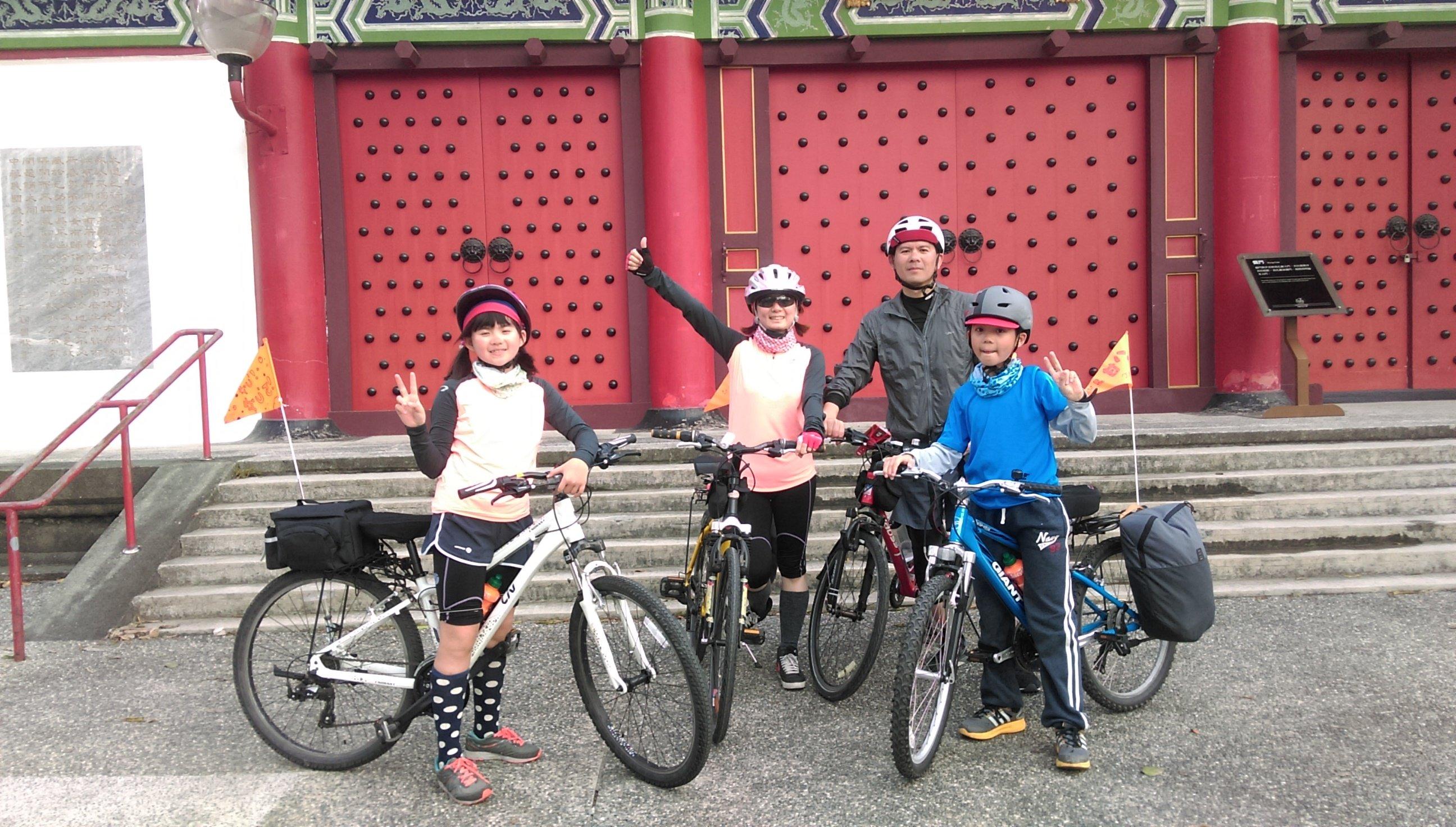 [單車環島練習曲] 2016 親子單車北高行 Day5 (大年初五) 台南安平 – 高雄左營
