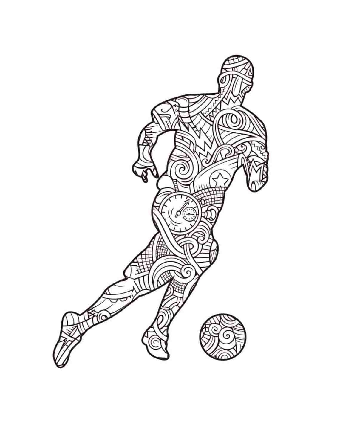 Football/Soccer Coloring Book: 2018 Russia World Cup coloring book ...