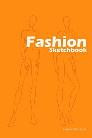 Fashion Sketchbook: Easily create your fashion styles with figure templates (Fashion Designer) (Volume 1)