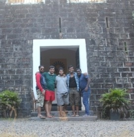 Goa Friends Tour - Teracol Fort