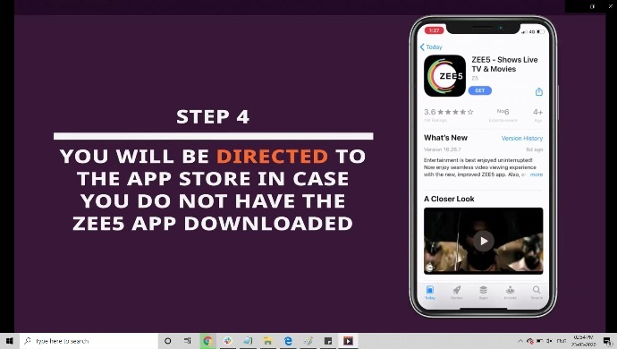 steps to download & get ZEE5 subscription for free from Vodafone Play
