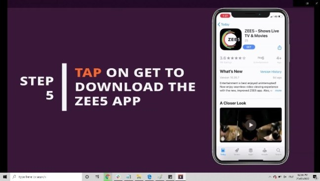 You can tap the  download button and the subscription for free from Vodafone Play