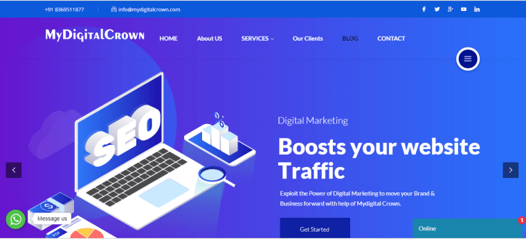 MyDigital Crown marketing agency