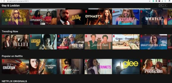 Netflix Categories from the letter F
