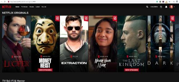 Link to Netflix secret categories