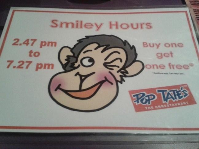 Pop Tates Happy Hours Mumbai