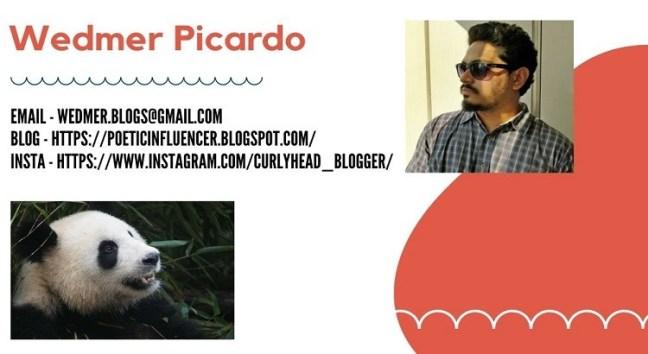 Poetry Author - Wedmer Picardo