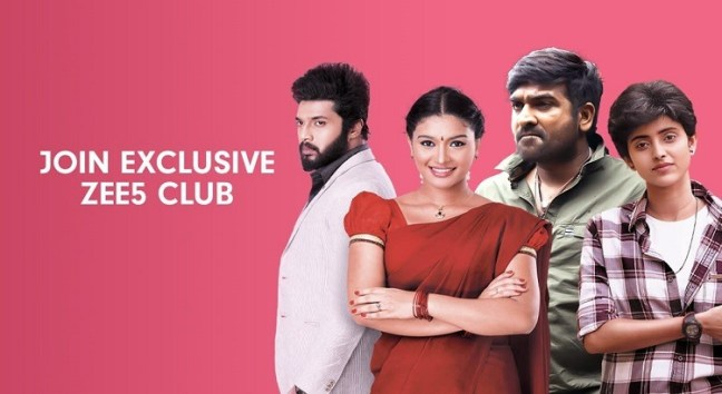ZEE Tamil, Malayalam and Telugu Movies
