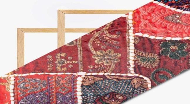 Digital Print Fabric in India - Gamthi print from Rajasthan & Gujarat