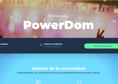Community PowerDom