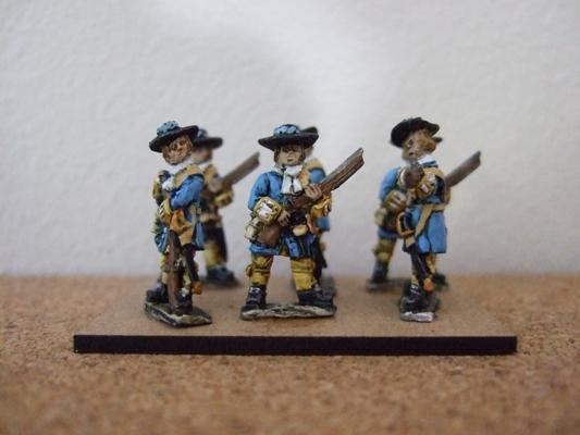 6x Mixed Matchlock infantry