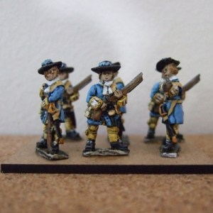6x Mixed Matchlock infantry