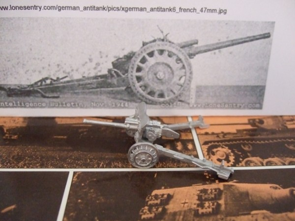 47mm Anti tank gun