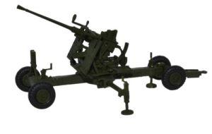 Olive Drab 40MM Bofors Gun