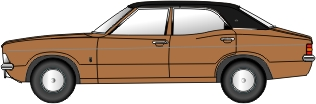 Ford Cortina III Gold