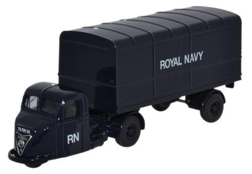 Scammell Scarab Van Trailer Royal Navy